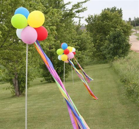 Balloon Topiary - balloon topiaries birthday party pinterest