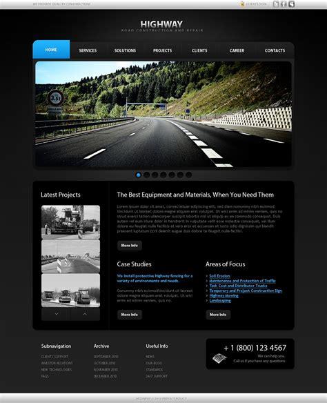 templates for industrial website industrial website template 31682