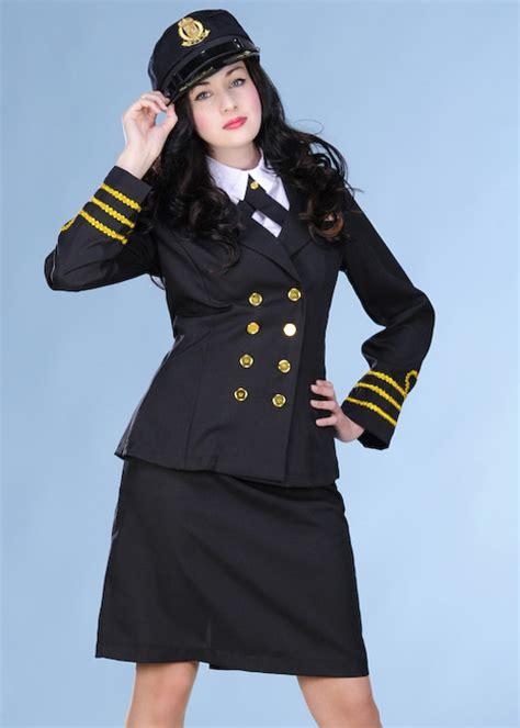 ladies  navy officer costume ladies  navy officer costume