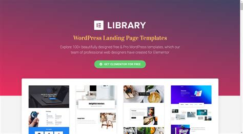 Elementor This Wordpress Page Builder Is Your New Design Tool Noupe Howldb Elementor Pro Templates