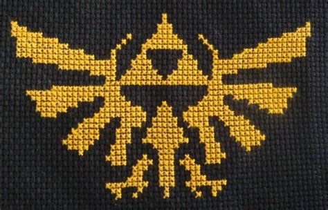 legend of zelda map cross stitch legend of zelda triforce pattern dorkster cross stitch