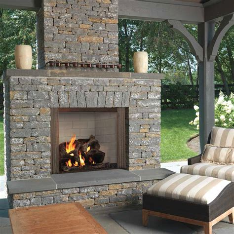 Castlewood Outdoor Wood Fireplace Insert