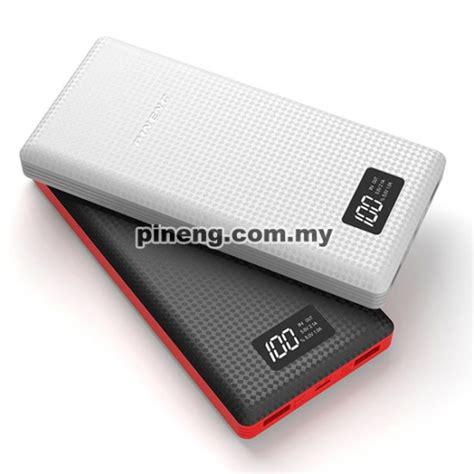 Power Bank Polymer new pineng pn 969 20000mah lithium polymer power bank white