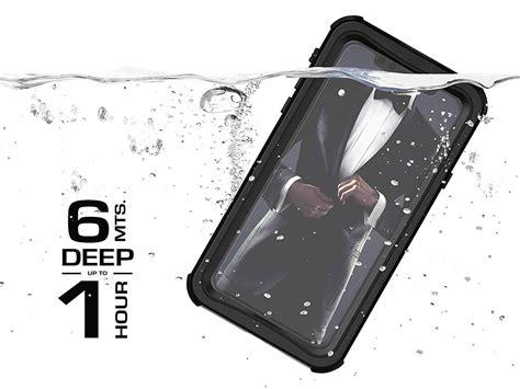 ghostek nautical  waterdicht iphone xs max hoesje