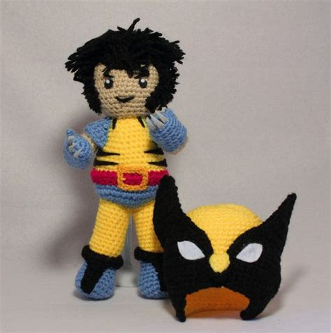 amigurumi wolverine pattern 500 best images about geeky crochet on pinterest free
