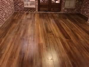 Hardwood Floor On Concrete Augusta Concrete Wood Flooring Rustic Concrete Wood Concrete Wood Woods