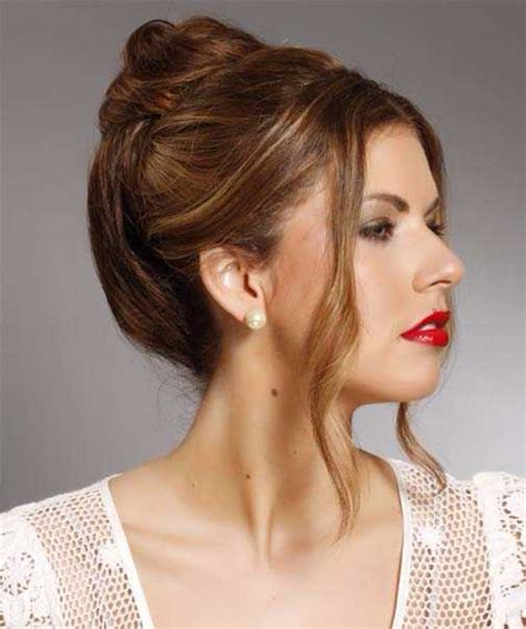 hairstyles for straight hair updo easy formal updos for long straight hair