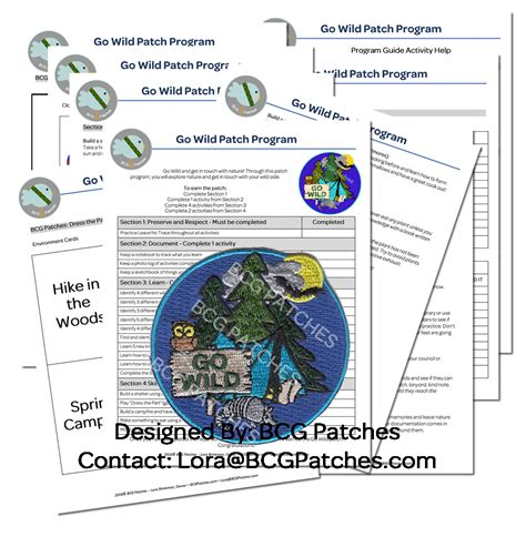 girl scout leader   wild patch program