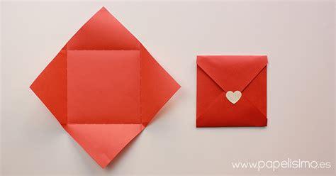 originales sobres para invitaciones paso a paso guia de c 243 mo hacer sobres de papel originales papelisimo