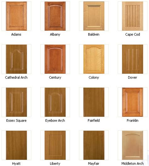 cabinet styles cabinet door styles house ideals