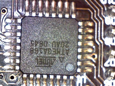 integrated circuit microscope magnified image of an another integrated circuit chip stealthcopter