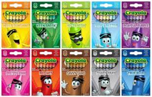 crayola crayon colors the crayon new for 2013 the crayola tip color