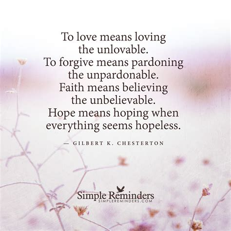 loving the unlovable how to when loving is tough books faith means believing the by gilbert k