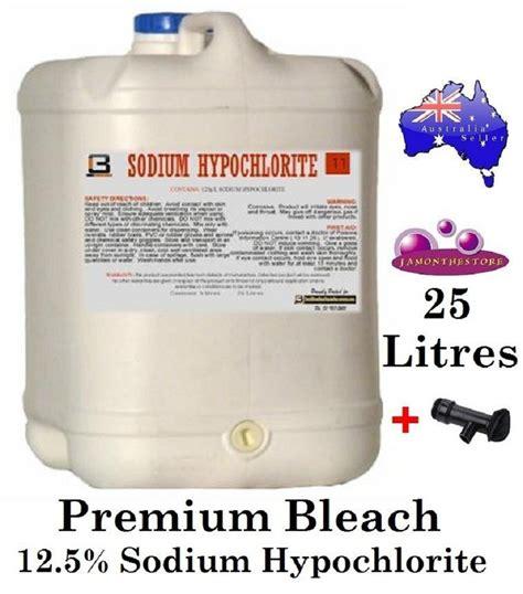 Sodium Hypochlorite Patio Cleaner by Premium Strong 12 5 Sodium Hypochlorite