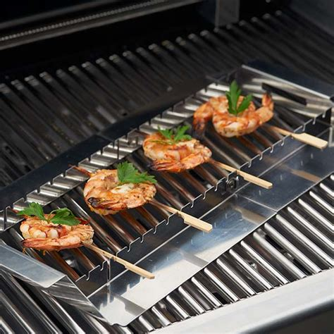 Cook Master Bbq Skewer Stainless Tusukan Kebab Satay Stainless F50 broil king grill accessories appetizer kebab set