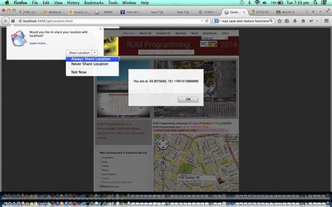 Html Geolocation Tutorial | html javascript geolocation primer tutorial robert