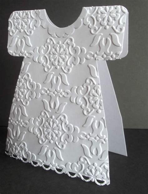 Baptism Dress Card Template by Stin Up Handmade Greeting Card Wedding Dress