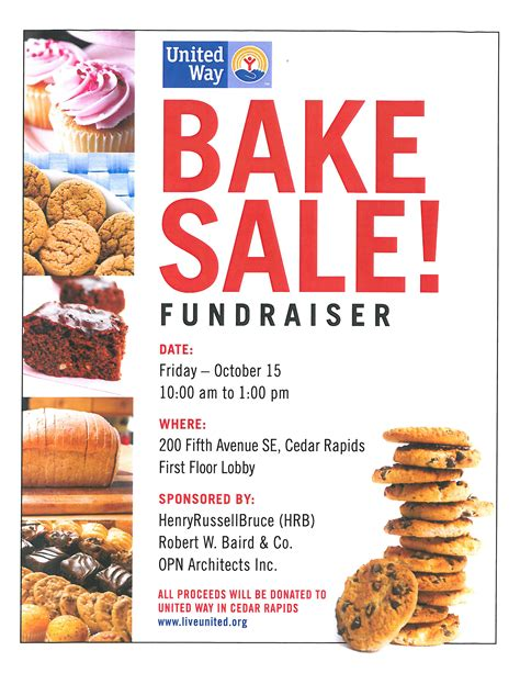 bake sale flyer free template 10 best images of bake sale flyer sle bake sale fundraiser flyer bake sale flyers