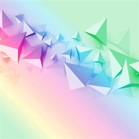 colorful background   polygon triangle shapes