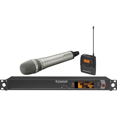 Mic Wireless Shennheiser Em 2500 Heandhel sennheiser em2000 wireless system with handheld 2000c1 204ni a