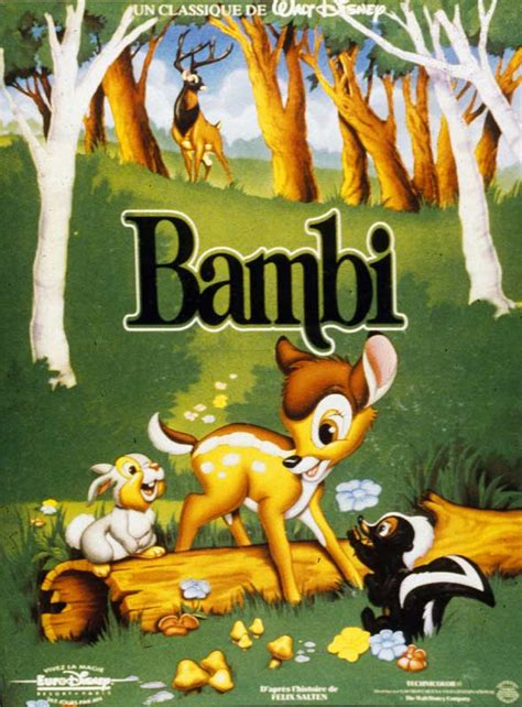 film walt disney gratuit bambi film 1942 allocin 233