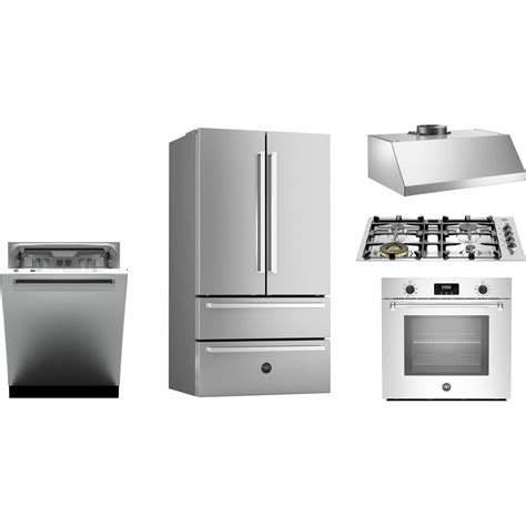 Kitchen Appliance Package With Oven Bertazzoni Kitchen Package With Qb30m400x Cooktop