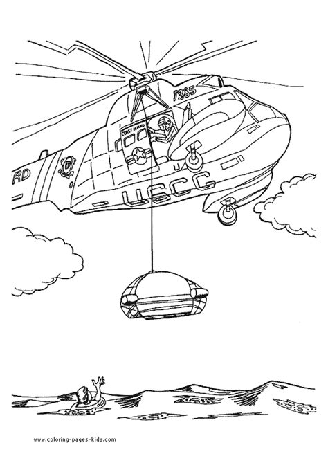 rescue helicopter coloring page helicopter color page coloring pages for kids
