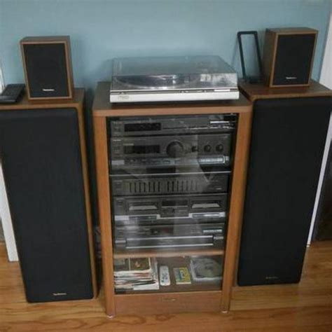 technics sd s2300 complete home stereo system