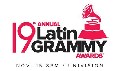 Grammy Latinos 2018 Lista Completa De Nominados As Abimelec Velasquez