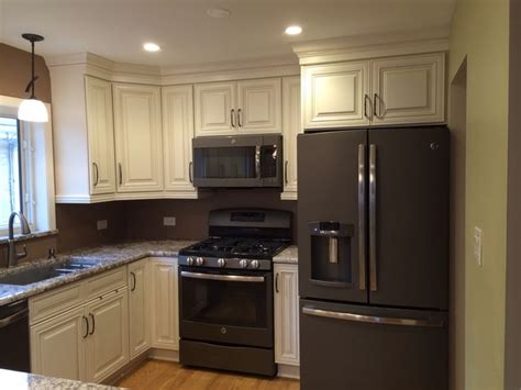 slate appliances with off white cabinets white kitchen cabinets slate appliances quicua com