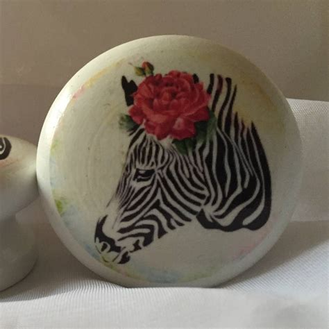 Zebra Drawer Knobs by Zebra And Door Drawer Cupboard Knob By Surface