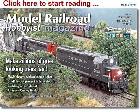 mrh   november  model railroad hobbyist magazine
