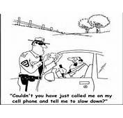 Jokes  Caught Speeding Photo Gallery Cartoons
