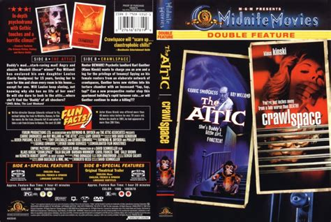 Attic Space the attic 1980 crawlspace 1986 midnite movies dvd