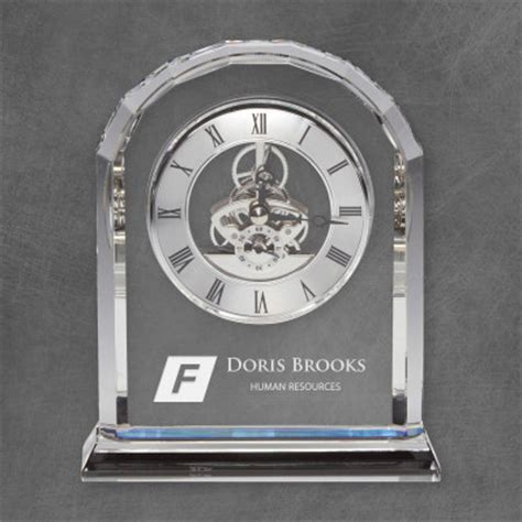 personalized desk personalized desk clocks engraved clocks