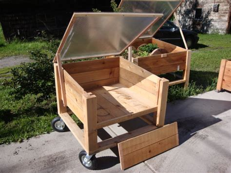 Movable Planters by Pdf Plans 3x3 Downloadable Plans And Directions To Build A