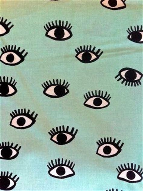 Eye Pattern Tumblr   eye print on emerald background eye prints pinterest