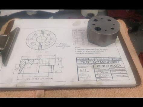 machinist bench block bench block anvil part 01 youtube