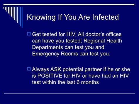 emergency room std testing hiv prevention powerpoint