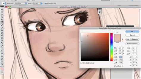 how to create digital doodle digital speed painting flawlessbieber