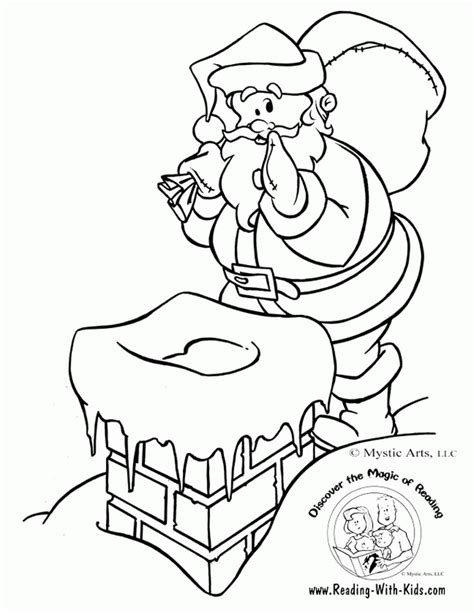 coloring pages for twas the night before thanksgiving twas the night before christmas coloring pages coloring home