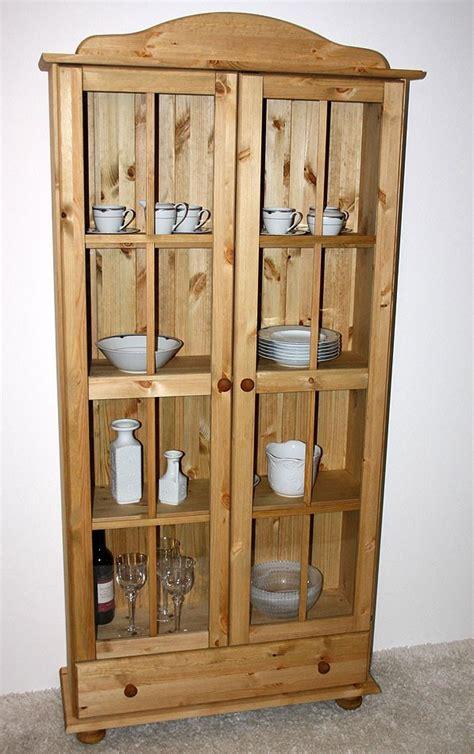 bücherschrank massivholz glasvitrine kiefer bestseller shop f 252 r m 246 bel und
