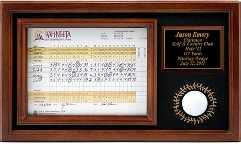 chions golf club plaques 12 best golf ball displays for a single collectible golf