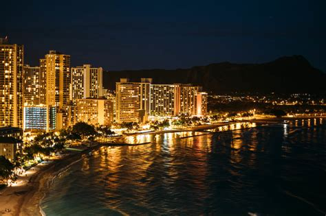 Honolulu City Lights by Danielle Vitarbo Photography Honolulu City Lights With The