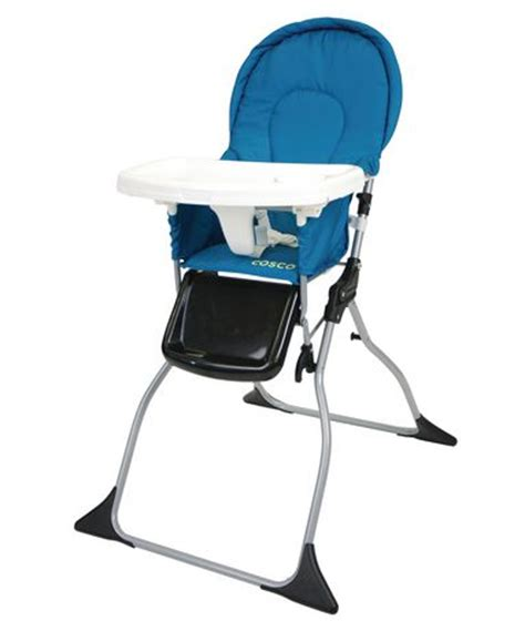 Cosco Folding High Chair by Cosco Simple Fold High Chair Peacock Walmart Ca