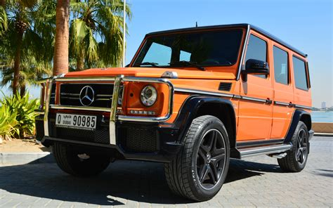 orange mercedes rent mercedes g63 orange dubai uae