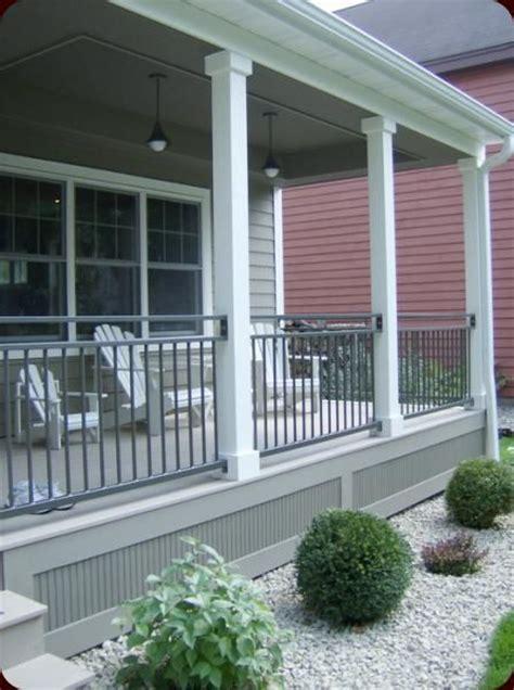 front porch metal railings 185 best deck railing and porch railing design ideas