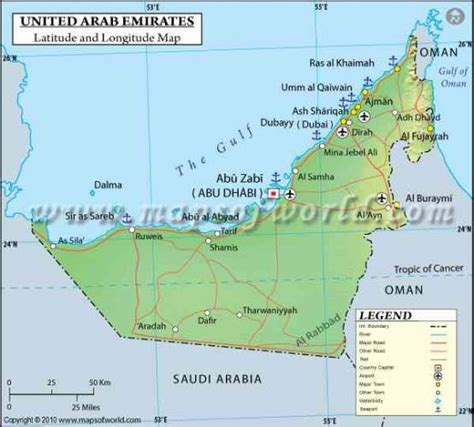 uae maps and directions uae map united arab emirates holidaymapq
