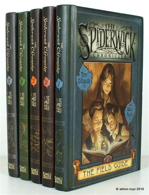 the chronicles books the spiderwick chronicles book 1 the field guide hb
