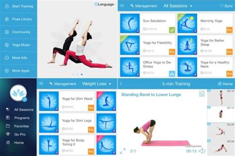 best yoga tutorial app 10 best yoga apps for android of 2017